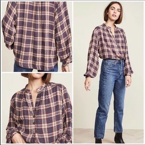 Free People | Northern Bound Button Down Top